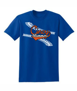 Cincy Slammers Royal Laces T-Shirt