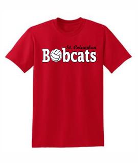 St. Columban Volleyball Red T-Shirt