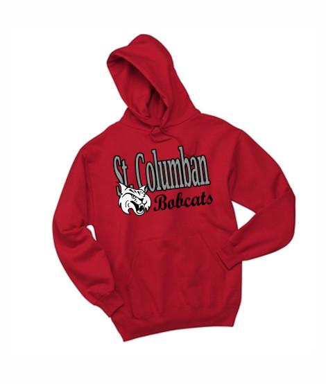 St. Columban Red Hoodie