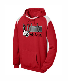 St. Columban Red Multi Color Hoodie