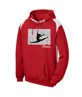 St. Columban Bobcats Dance v2 Red Multi Color Hoodie