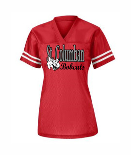 St. Columban Ladies Jersey Red