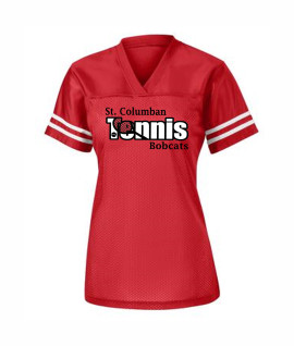 St. Columban Tennis Ladies Jersey Red