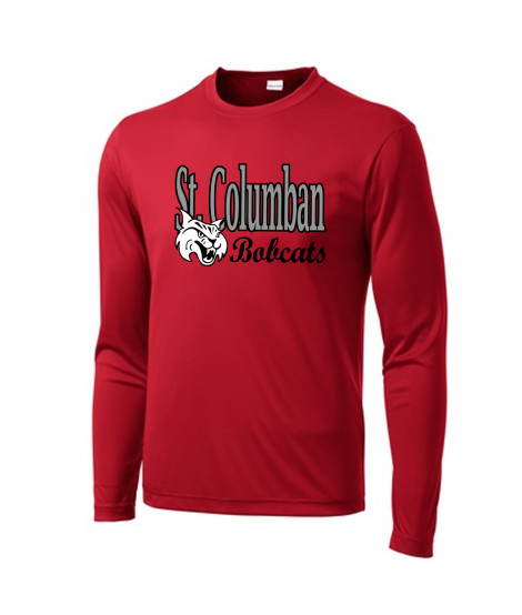 St. Columban Red Performance Active Wear