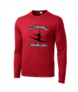 St. Columban Dance Red Performance Active Wear