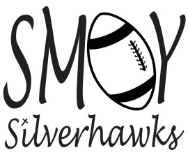 SMOY Football Car Decal