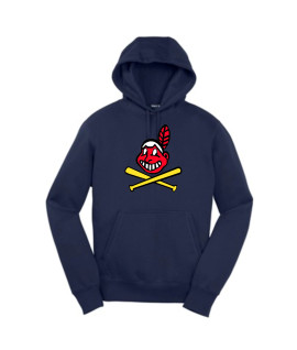 Sport-Tek Navy Pullover Hooded Sweatshirt Color Blackhawk