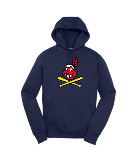 Sport-Tek Navy Pullover  Hooded Sweatshirt Color Blackhawk