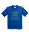 KOK Royal Short Sleeve Tshirt Green Glitter Logo