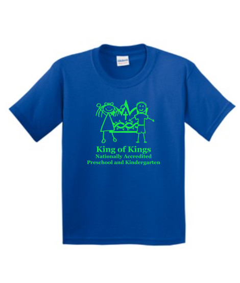 KOK Royal Short Sleeve Tshirt Green Logo