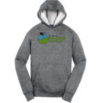 Fort Wayne Farmers Market Grey Hoodie GLITTER Mens Youth