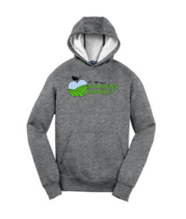 Fort Wayne Farmers Market Grey Hoodie Mens Youth