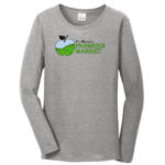 Fort Wayne Farmers Market Grey Long Sleeve Tee Ladies