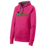 Fort Wayne Farmers Market Pink Ladies Performance Hoodie GLITTER