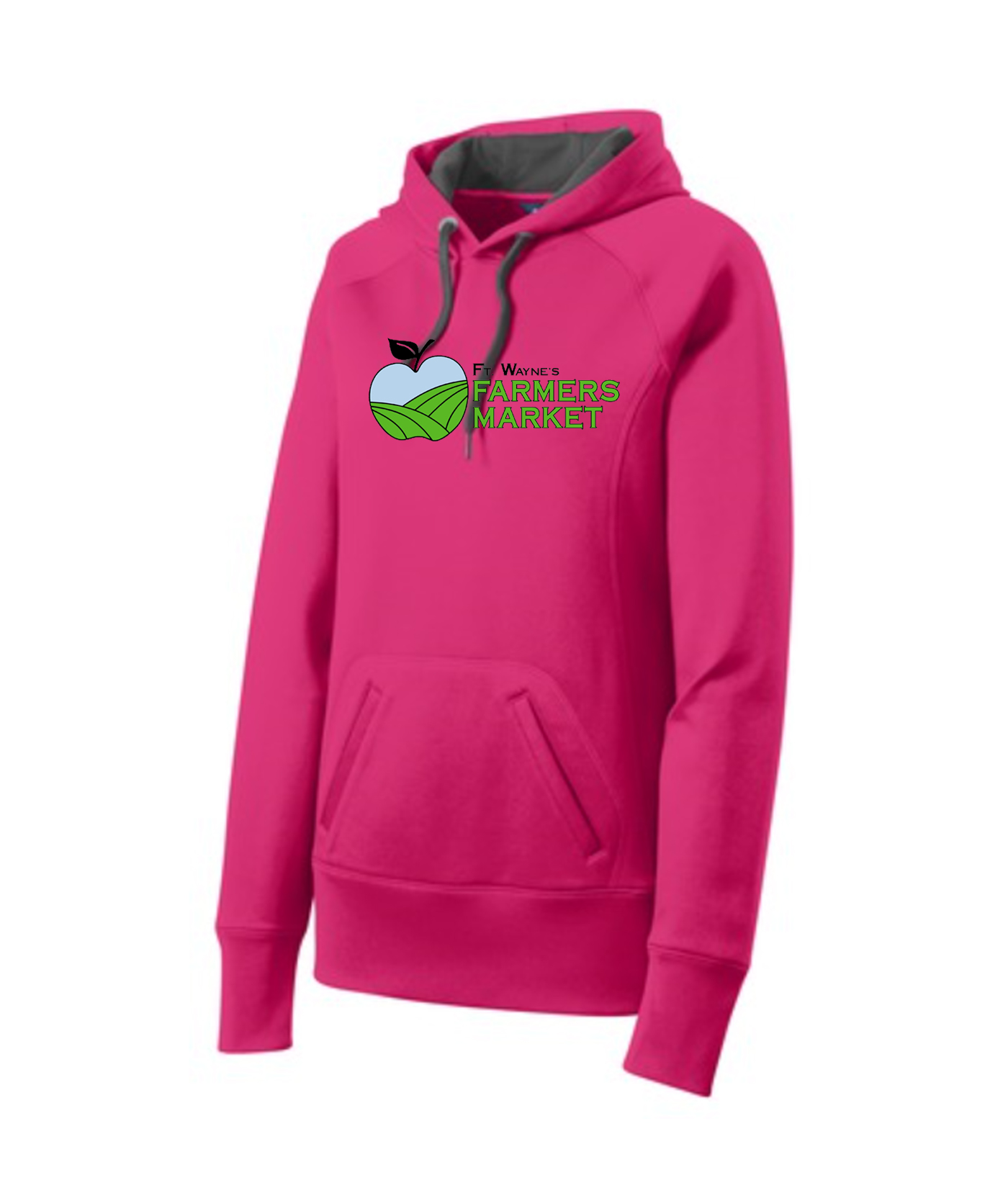 Fort Wayne Farmers Market Pink Ladies Performance Hoodie