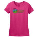Fort Wayne Farmers Market Pink Ladies Tee GLITTER