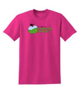 Fort Wayne Farmers Market Pink Tee