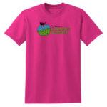Fort Wayne Farmers Market Pink Tee GLITTER