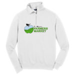 Fort Wayne Farmers Market White Ladies Quarter Zip