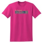 Mens_Youth Tee Pink_Basketball Gold Out GLITTER