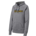ST Grey Ladies Hoodie_ Basketball Navy Out Gold In GLITTER