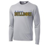 ST Grey Mens_Youth Poly Long Sleeve_Basketball Navy Out GLITTER