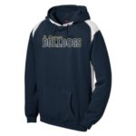 ST Navy Colorblock Hoodie_ Regular Gold Out Navy In GLITTER