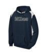 Navy Colorblock Hoodie Volleyball GLITTER