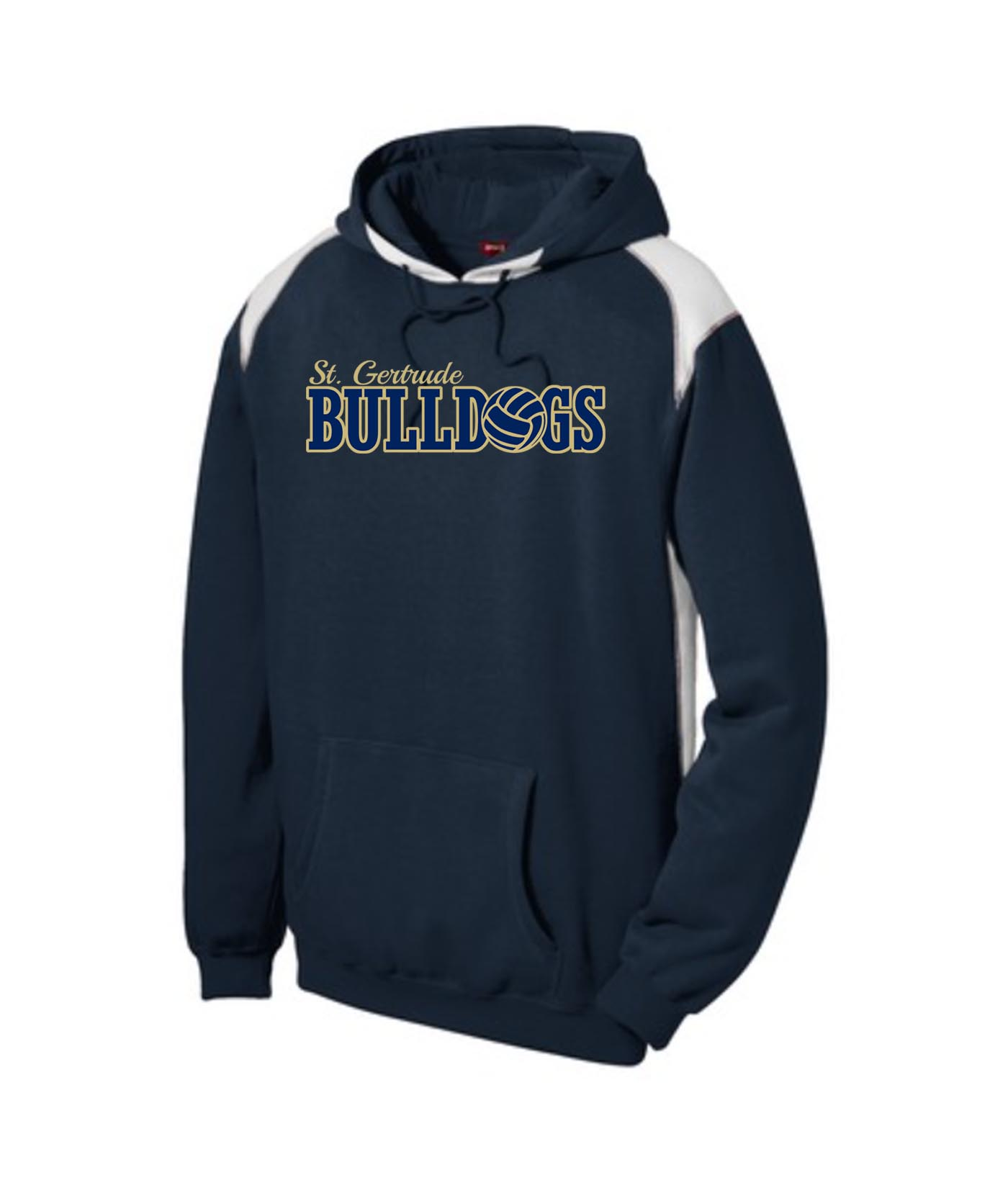 ST Navy Colorblock Hoodie_ Volleyball Gold Out Navy In