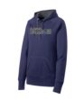 Navy Ladies Hoodie Basketball GLITTER