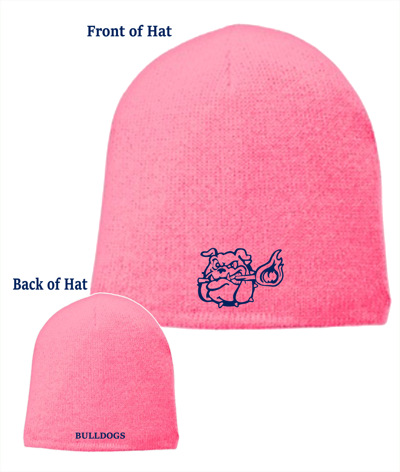 pink-beanie-hat-bulldog-embroidered_navy-outline_online