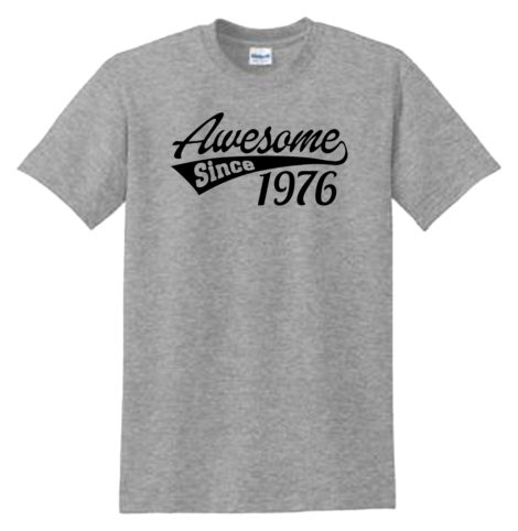 Awesome Since Sport Grey T-Shirt