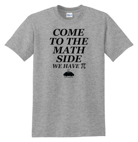 Come to the Math Side Sport Grey T-Shirt