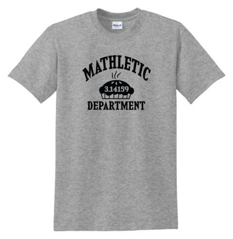 Mathletic Dept PI Sport Grey Tee