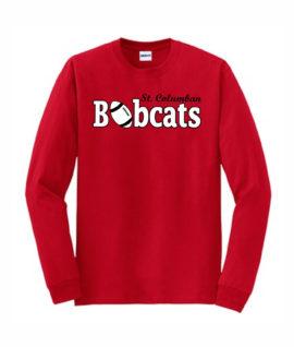Red Long Sleeve T-Shirt Football O