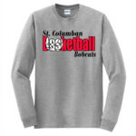 Sport Grey Long Sleeve Adult T-Shirt Basketball Inside