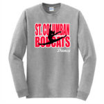 Sport Grey Long Sleeve T-Shirt Dance In Words