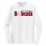 White Long Sleeve T-Shirt Basketball O