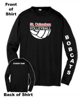 Bobcats Volleyball Warm Up Shirts