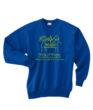 KOK Crew Neck Sweatshirt Green Glitter Logo