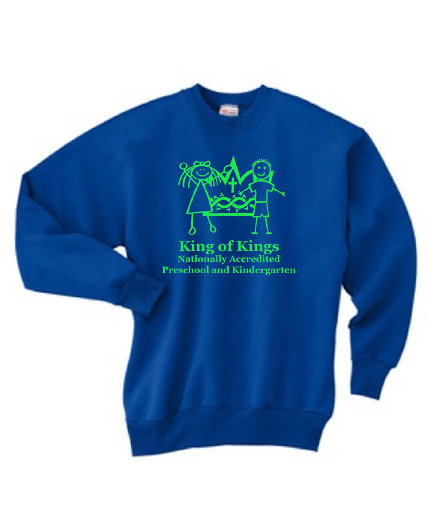 KOK Crew Neck Sweatshirt Green Logo