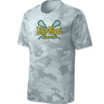 LM Lacrosse ST370 White Camo Tee Green Yellow