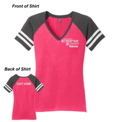 Lineshot Volleyball DM476 PinkGrey_Cotton ONLINE