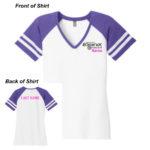 Lineshot Volleyball DM476 PurpleWhite_Cotton ONLINE