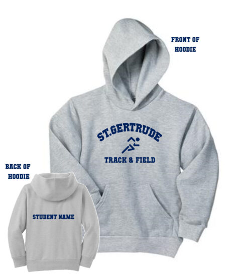 Track and Field Hoodie