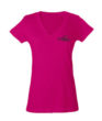 Tulex 214 Ladies Pink V-Neck