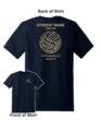 2017 Volleyball Shooting Shirt Short Sleeve Name on Back
