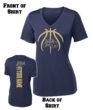2017 Basketball Spirit Shirt_Ladies Short Sleeve