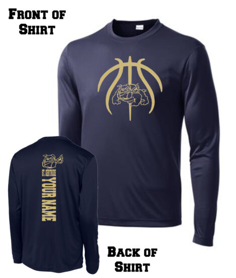 2017 Basketball Spirit Shirt_Long Sleeve