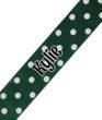 Dark Green Polka Dot Print